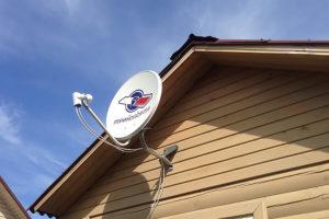 спутниковое телевидение да даче